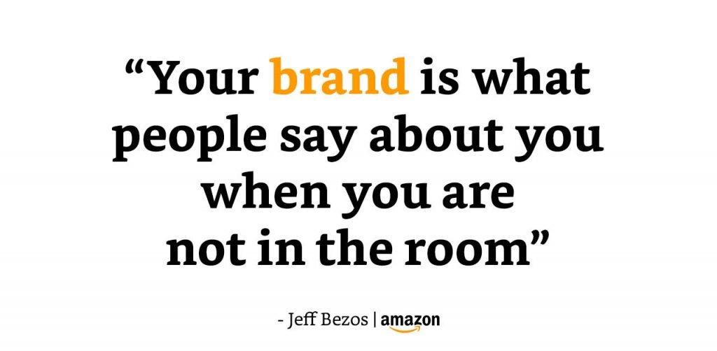 branding quote sterk merk Amazon